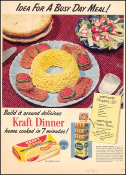 Kraft Dinner-Ideal For A Busy Day 1953